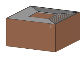 feuerwürfel cubo 80.80