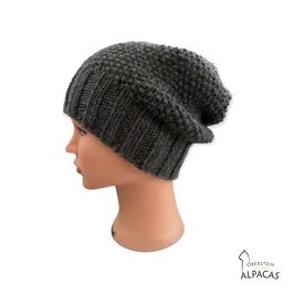 Alpaka Mütze Pearl
