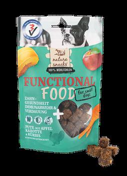 Pute, Kürbis, Karotte &  Apfel FOR SMALL DOGS (Häppchen)