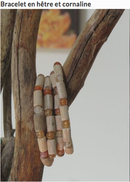Bracelet Chaleureuse cornaline