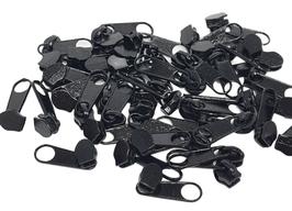 10 Zipper SCHWARZ