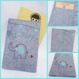 U-Hefthülle kleiner Elefant
