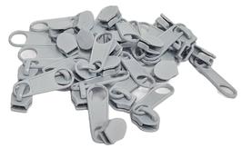 10 Zipper WEISS