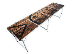 The Oak Beer Pong Table