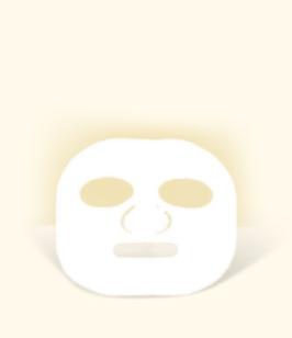 Viskose Gesichtsmasken, 4 Stück/VE
