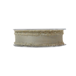 NASTRO IN COTONE - MARRONE 23mmx15mt