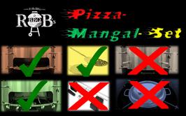 Pizza-Mangal Komplettset