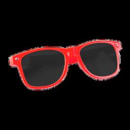 """LOW-Brille - Rot""  | Statement-Sonnenbrille"