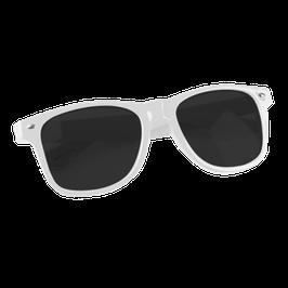 """""""LOW-Brille - Weiß""""    Statement-Sonnenbrille"""