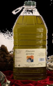 Aceite de Oliva Arbequina Extra Virgen. 5 Liter.
