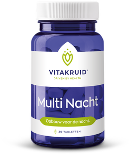 Vitakruid Multi Nacht 30 - 30 tabletten