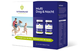 Vitakruid Multi Dag & Nacht 30 - 2x 30 tabletten