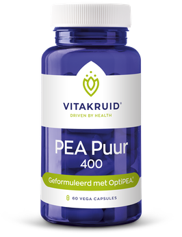 Vitakruid PEA Puur 400 - 60 vega capsules