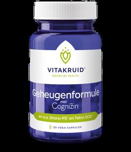 Vitakruid Geheugenformule 30 - 30 vega capsules