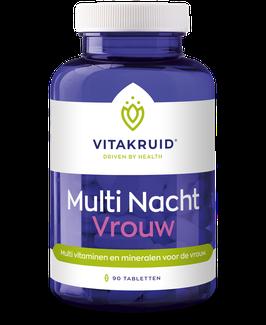 Vitakruid Multi Nacht Vrouw 90 - 90 tabletten