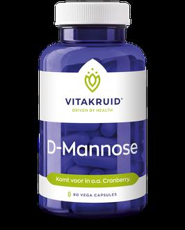 Vitakruid D-Mannose 500 - 90capsules