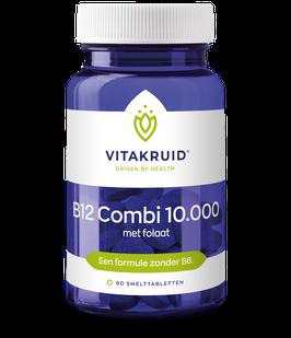 Vitakruid B12 Combi 10.000 met folaat - 60 smelttabletten