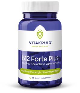 Vitakruid B12 Forte Plus met P5P - 60 smelttabletten