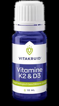 Vitakruid Vitamine D3 & K2 - 100 druppels (50 dagdoseringen)