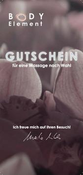 Gutschein für 50 min Massage