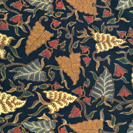 Solo Large Leaves Batik