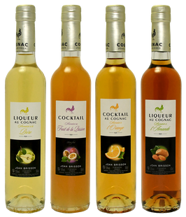 Set of 4 bottles Cocktail-Liquor