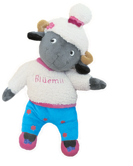 Blüemli-Plüschtier/Soft toy Blüemli