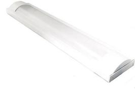 Plafoniera Slim per Tubo 60cm Led T8 Singolo - Per interno IP40  FN00611