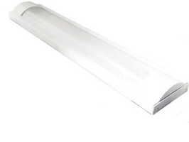 Plafoniera Slim per Tubo 120cm Led T8 Singolo - Per interno IP40  FN00612