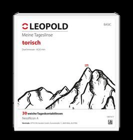 30er LEOPOLD Comfort Tageslinsen TORISCH