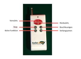 Fernbedienung für Keilershoot Pro/ Remote control Keilershoot Pro