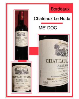 Chateaux le Nuda ME' DOC 2009