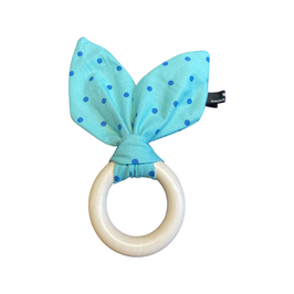 Le Chewy-Bunny - Strawberry Turquoise Dottie