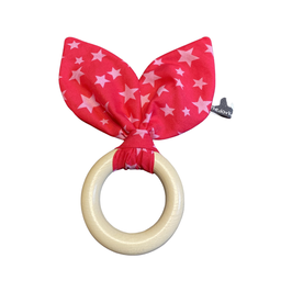 Le Chewy-Bunny mit Knister - Pink Stars