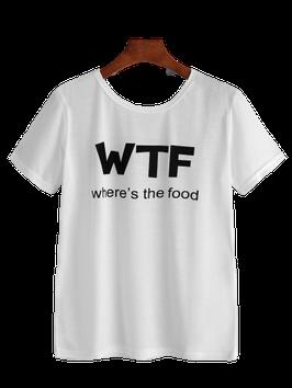 T-shirt WTF wit