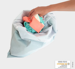 Grand sac 2 en 1 - stockage/lavage 45X55 cm