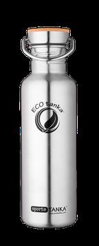 sportsTanka,  800 ml, ECO-033, Edelstahl