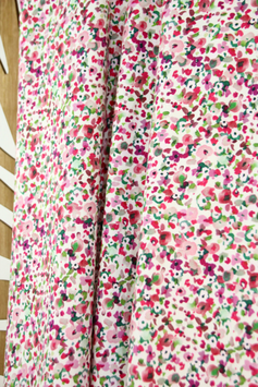 Atelier Jupe small abstract flower stretch