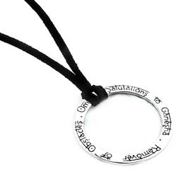 Ganesha Mantra Kette - 925 Silber