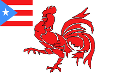 Bandera Gallística de Puerto Rico