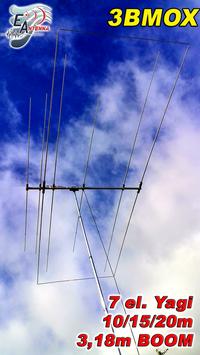 3BMOX Multiband Antenna