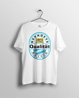 """Herren T-Shirt """"Geprüfte Qualität Bayern"""""""