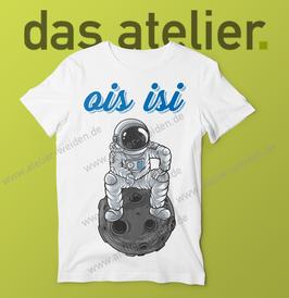 "Herren T-Shirt ""ois isi Astronaut"""