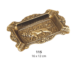 灰皿 真鍮 ライオン イタリア製 獅子 クラシック 雑貨 インテリア雑貨 スティラーズ STILARS 388279