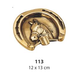 灰皿 馬 シューホース オシャレ 真鍮製 イタリア製 雑貨 ブラス スティラーズ STILARS 388277