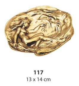 灰皿 オシャレ 女神 真鍮製 レディー イタリー製 ブラス シュー スティラーズ STILARS 388278