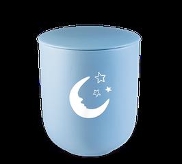 Kinderurn Maan en Sterren blauw
