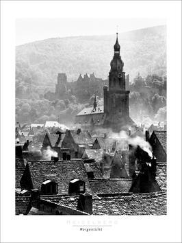 "Poster ""Morgenlicht"" 60x80 cm"