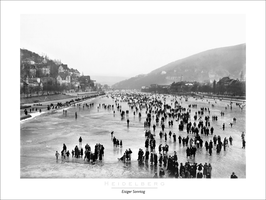 "Poster ""Eisiger Sonntag 1929"" 60x80 cm"