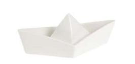 Süsse kleine Schüssel Papierboot